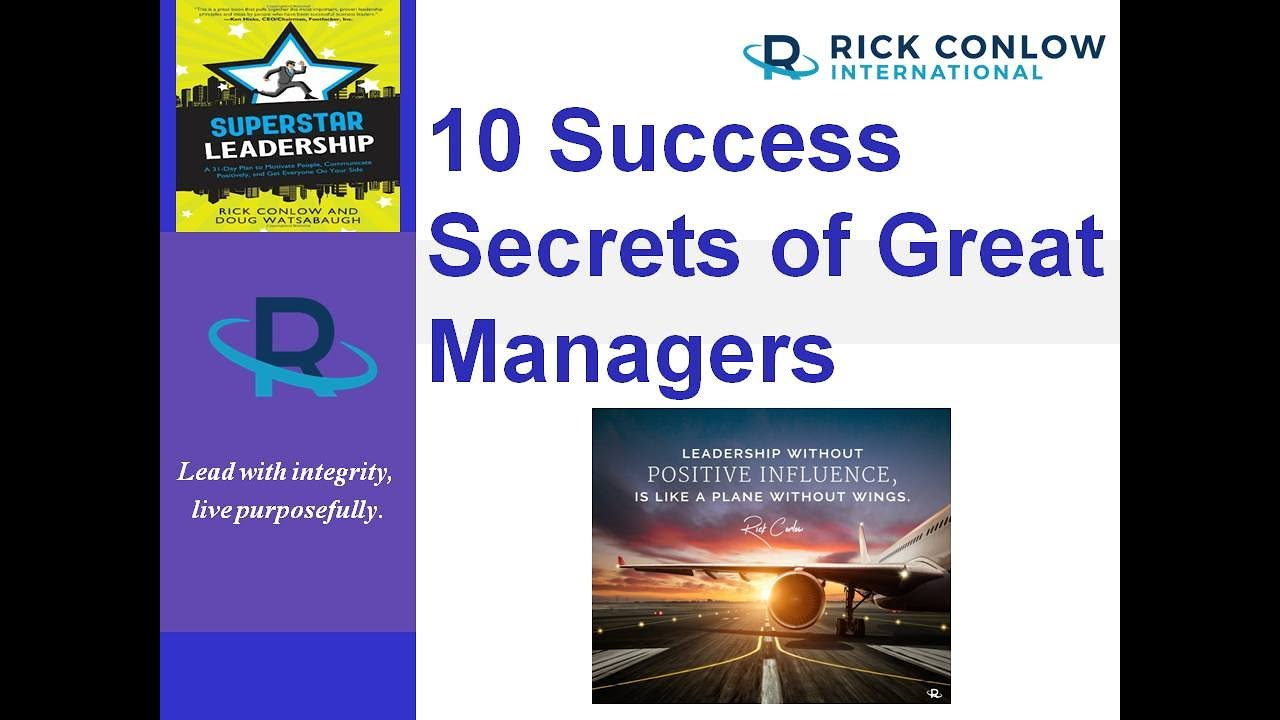 10 Leadership Success Secrets of Great Managers