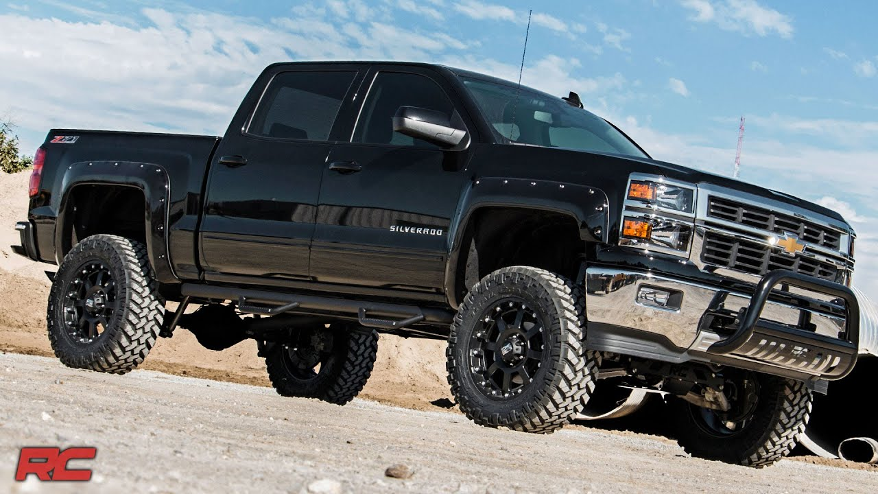 2014-2018 GM 1500 Pickup 7-inch Suspension Lift by Rough ...