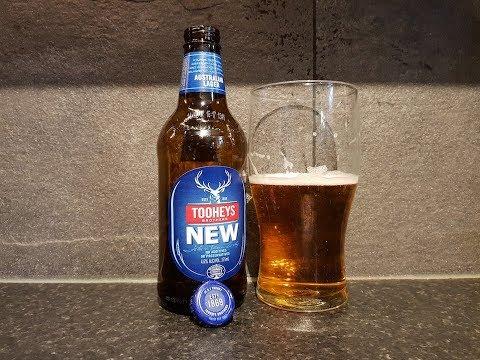 Tooheys New Australian Lager By Tooheys Brothers   Australian Beer Review