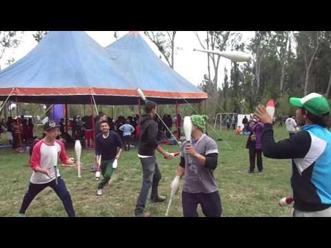 Scrambled 3V - Santiago Juggling Convention 2013