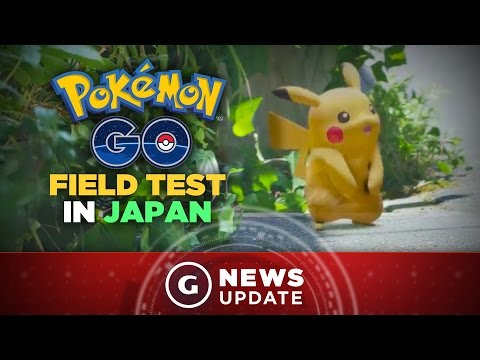 "Pokemon Go ""Field Test"" Sign-Ups Go Live in Japan, Other Regions Coming Later - GS News Update"