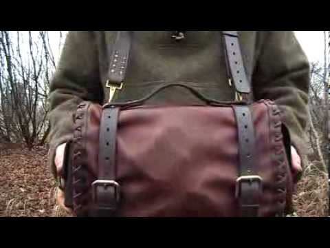New Custom Leather Bushcraft / Woodsman's kit...and an announcement about shoulder bags.