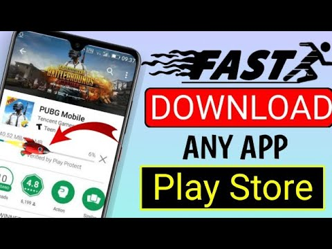 How To Download Fast Any App Play Store !  Download App Fast Play Store!Technical Help