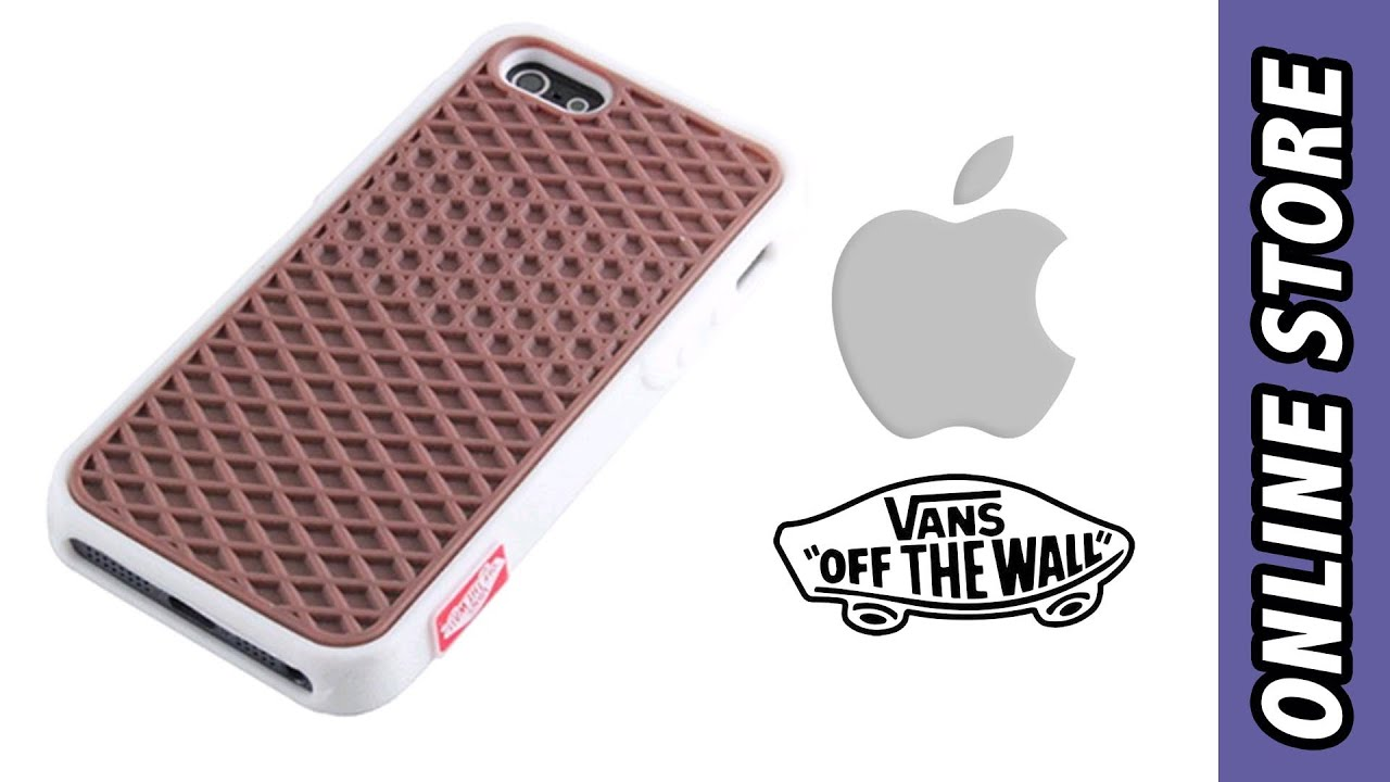 f44ea60a87b Funda Vans | iPhone 5 & 5S - YouTube