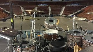Aaron Gillespie - Cross Over Groove - Drum Lesson