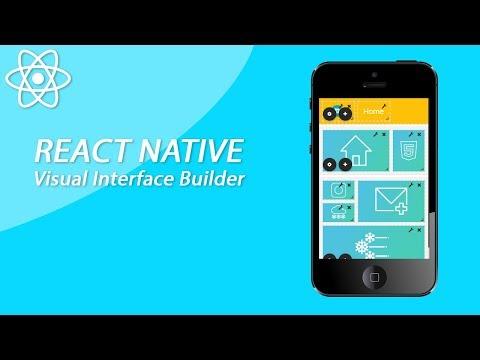React Native Visual Interface Drag And Drop App Builder