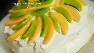 Pavlova (kiwi & Nectarine Pavlova) Recipe
