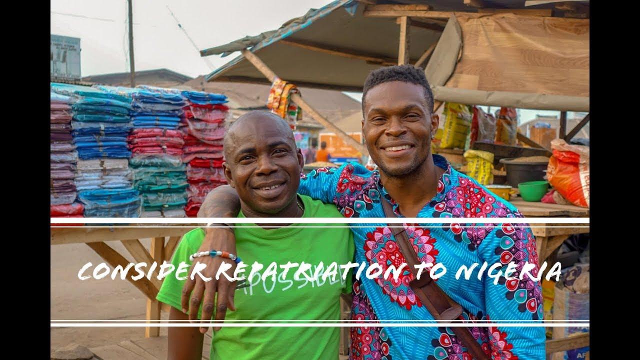 Black Americans Need To Consider Repatriation To Nigeria w/ John Cashin