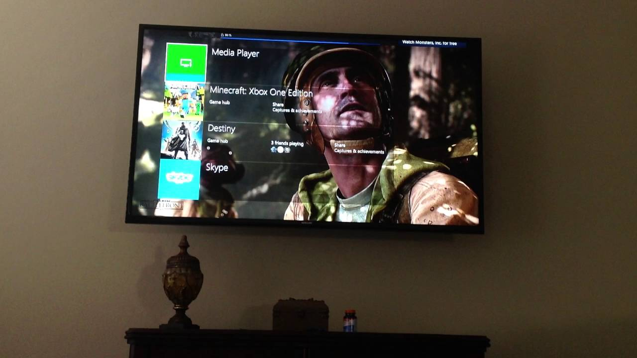 How To Set A Custom Image As Your Wallpaper On Xbox One Youtube