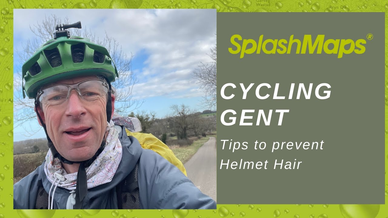 Cycling Gent How To Avoid Helmet Hair Youtube