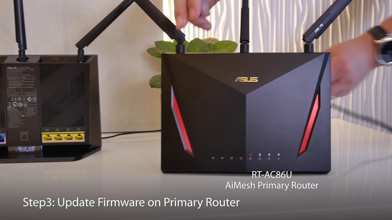 ASUS AiMesh Tutorial - 5 steps to setup AiMesh Wi-Fi system