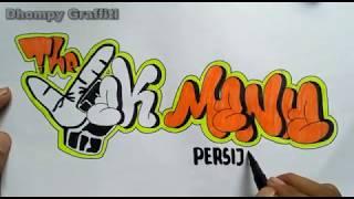 Membuat Graffiti The Jak Mania   Persija Fans Club