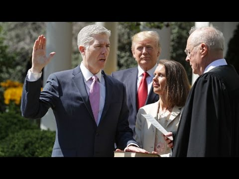 Anti-Civil Rights Judge Neil Gorsuch Sworn In As Supreme Court Justice