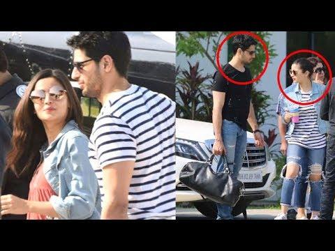 Alia Bhatt and Sidharth Malhotra's CUTE Moment Caught In Public