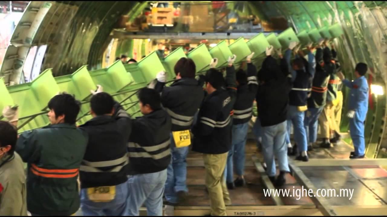 aircraft maintenance engineering at taeco training centre china