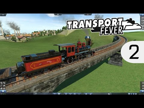 Transport Fever - Sweden [Modded Hard] - Norway demands oil! - 2