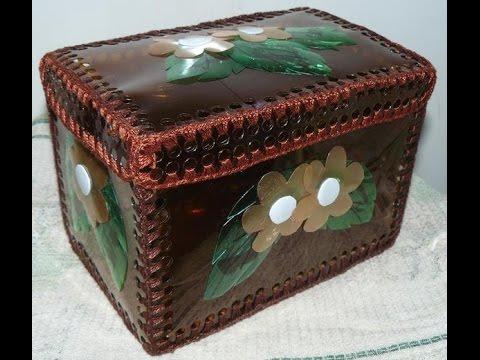 Шкатулка своими руками из коробки под конфет фото 943