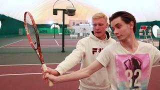 Как научиться играть в большой теннис? 3 первых шага @ Типичная Москва(, 2015-10-04T10:04:14.000Z)