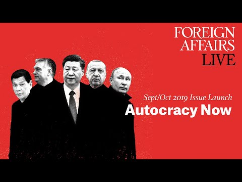 Foreign Affairs September/October Issue Launch: Autocracy Now