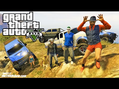 GTA 5 : THURSDAY night RUMBLE W/ AGENTROB AND FRIENDS - WHO WILL BE KING OF OFF ROAD   CHALLENGE