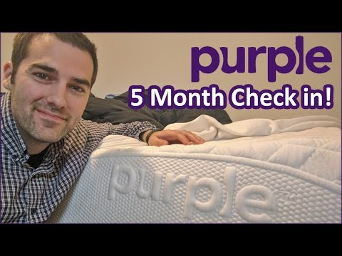 Purple Mattress Review - 5 Month Check in!