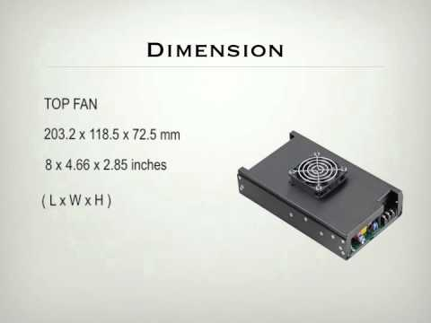 Medical & ITE Power Supply, 500W Series, Single Output.The High Density Power Supply.