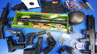 Box of Toy Guns  RPG Rocket Launcher Toys SA-931 , Airsoft Gun, Military Guns \u0026 Equipment Toys