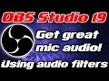 Gambar cover OBS Studio | GETTING GOOD MIC | Compressor & noise filter settings | TUTORIAL / HOW TO / GUIDE