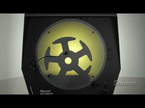 Optimax - Starrett HD400 Horizontal Profile Projector / Shadowgraph