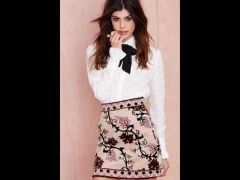 beautiful-black-velvet-suspender-skirt-outfit