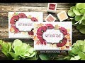 Thanksgiving Card with Poppies
