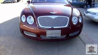 24 INCH FORGIATOS ON A LIMITED EDITION BENTLEY Trendsetters Dallas