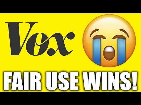 I Won The Copyright Dispute With Vox Media. Let's Discuss It...