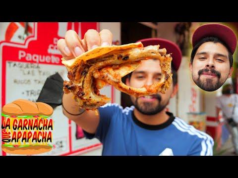 Tacos de COLA y TRIPA en MADERA | La garnacha que apapacha