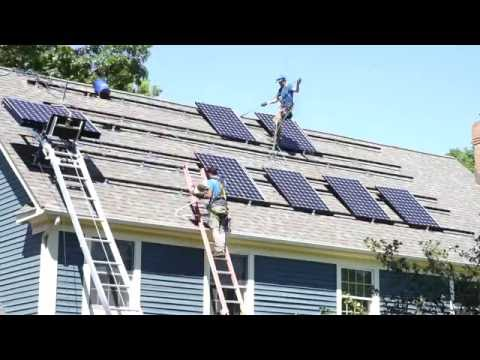 A Day in the Life of a Solar Installer