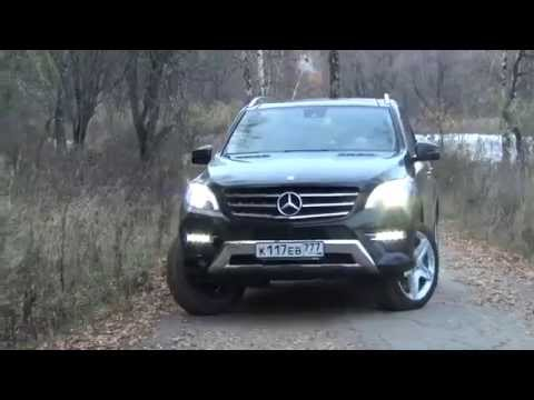 Mercedes ML 400 (GLE) 2015 0-100 review (Тест драйв)