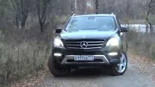 Mercedes ML 400 (GLE) 2015 0-100 review (Тест драйв)