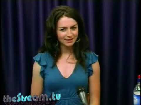 Caterina Scorsone - MerrillWood interview (with appearance by Rob Giles!)