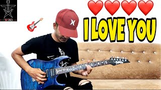 i LOVE YOU - Bodyguard ELECTRIC Guitar Cover with Tabs & Chords | instrumental | FUXiNO