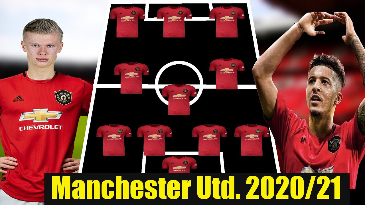 Manchester United Lineup 2020 21 With Haaland Koulibaly Sancho Sancho To Manchester United Youtube