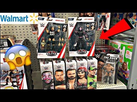 WWE TOY HUNTING AT WALMART & TARGET!