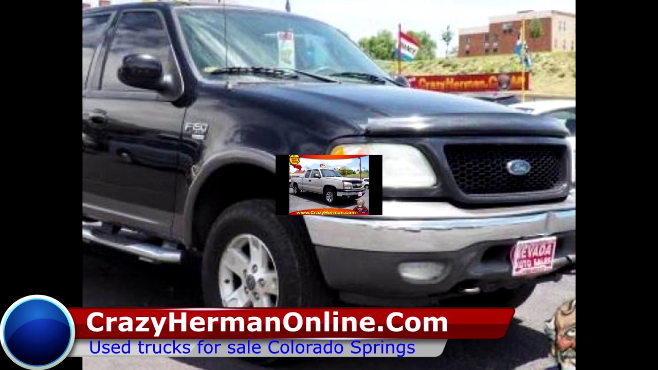 used trucks for sale colorado springs youtube. Black Bedroom Furniture Sets. Home Design Ideas