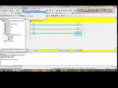 Cara Membuat Program PLC Sederhana YouTube