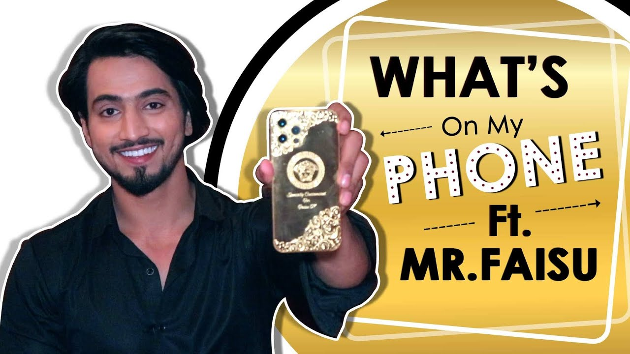 Download What's On My Phone Ft. Mr. Faisu | Phone Secrets Revealed | India Forums