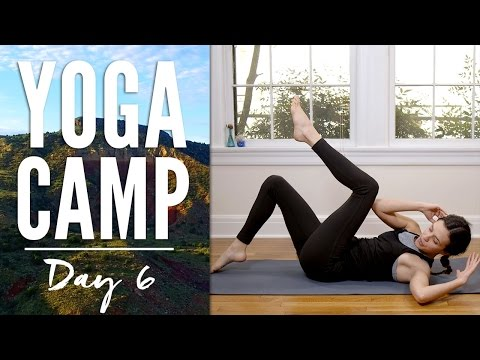 Yoga Camp Day 6 - I Am Supported (Six Pack Abs)