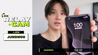 ⏱JUNGWOO : 1-2PM|NCT 24hr RELAY CAM