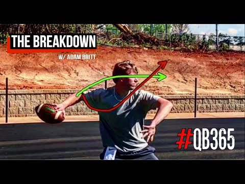 CORRECTING A QUARTERBACK'S ARM PATH | THE BREAKDOWN EPISODE 12