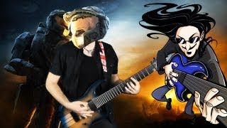 "Halo Theme ""Epic Djent/Rock"" Cover (Little V)"