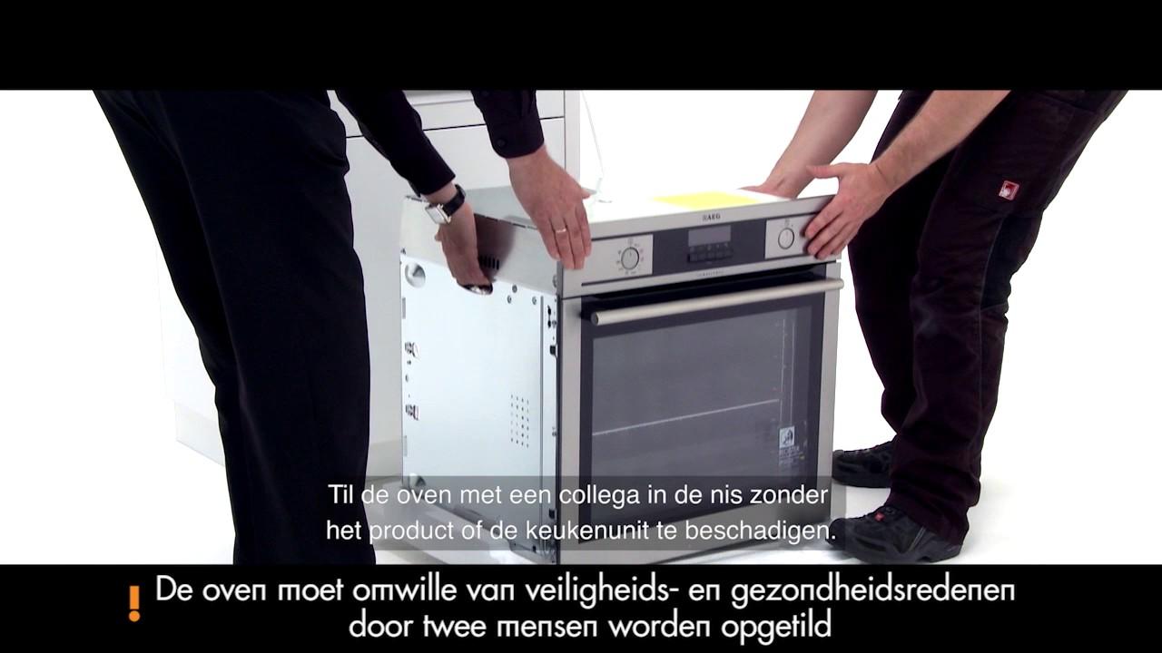 Installatievideo Hoe Monteer Ik Een Oven
