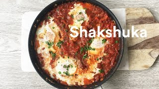 How To Make Shakshuka: Eggs in Tomato Sauce Recipe - 2 Meal Day - Max Lowery